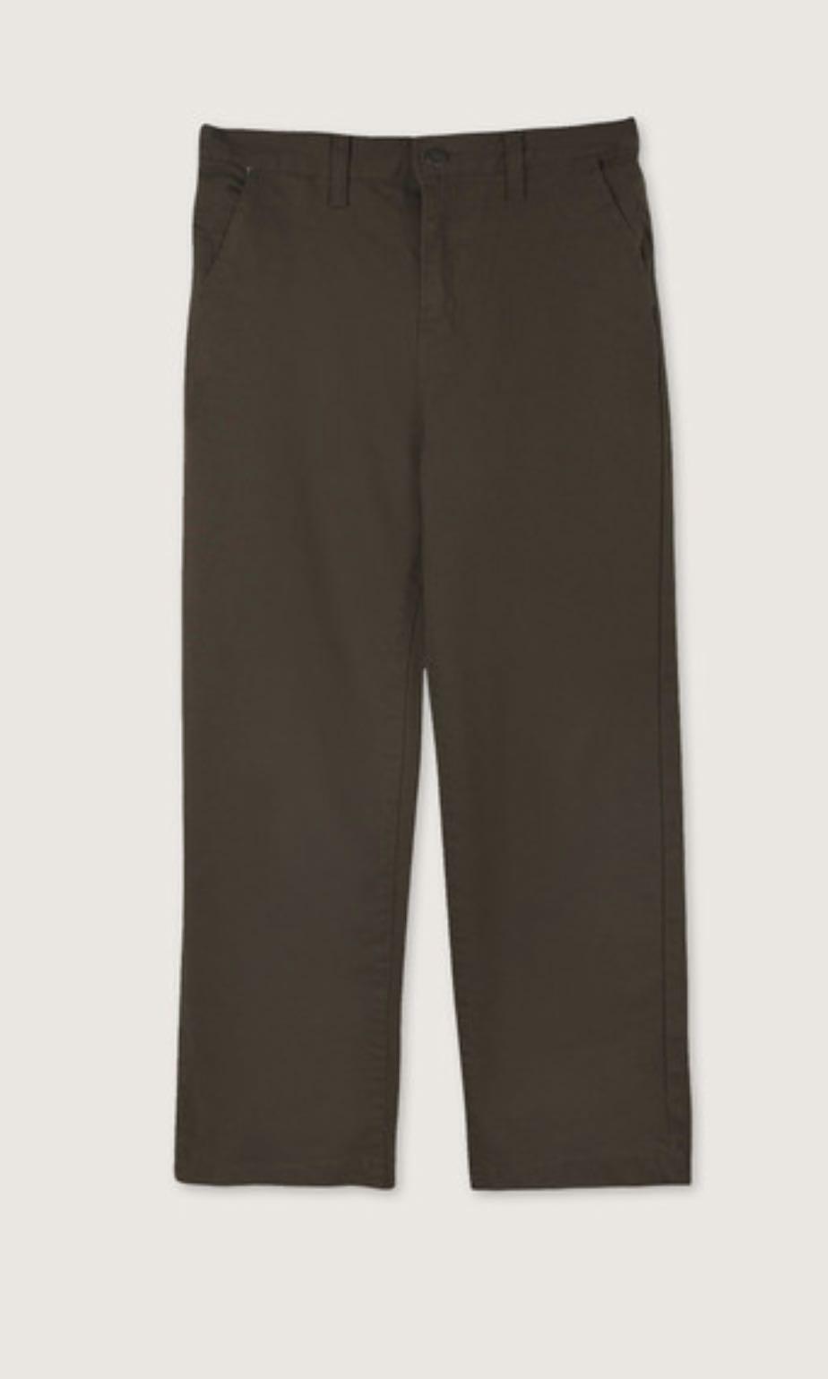 Oak+Fort Olive Straight Leg Pants