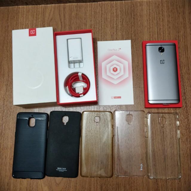 OnePlus 3T 64GB 6GB Gunmetal