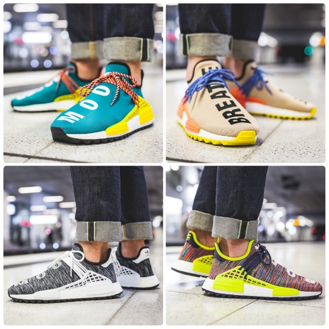 2fd633ae1838 Pharrell Williams x Adidas NMD Hu Trail (Human Race)