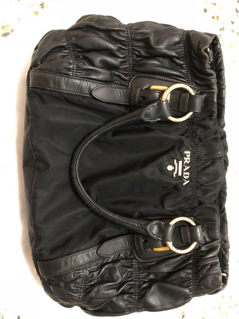69c365975ac1 PRADA BN1791 Lambskin Shoulder Bag, Women's Fashion, Bags & Wallets ...