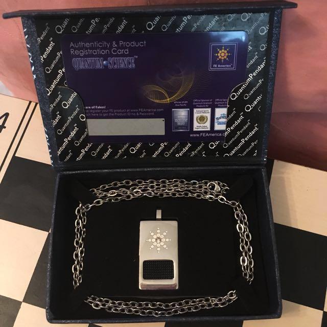 Premium quantum pendant plus quantum chain looking for on carousell photo photo aloadofball Gallery