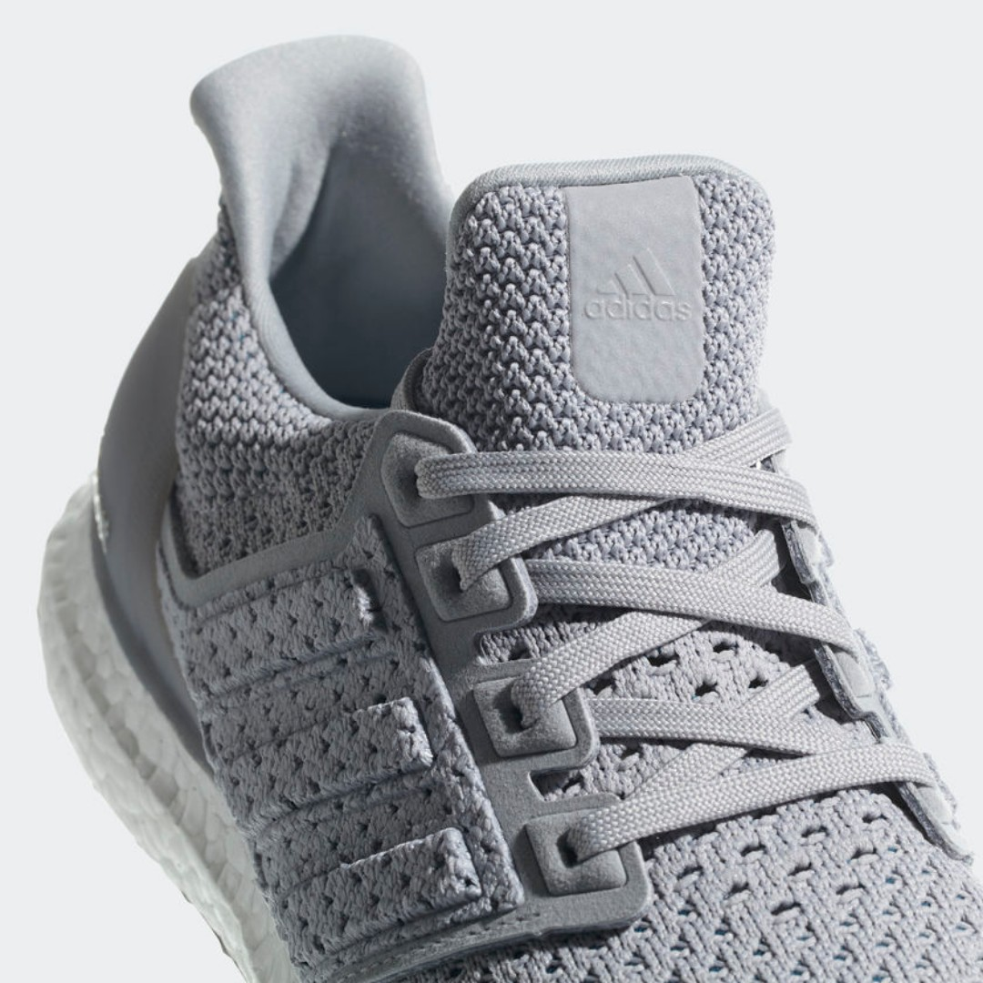 0876776fdec  PRE-ORDER  Adidas ULTRABOOST CLIMA SHOES - Grey Two Grey Two Real Teal  BY8889