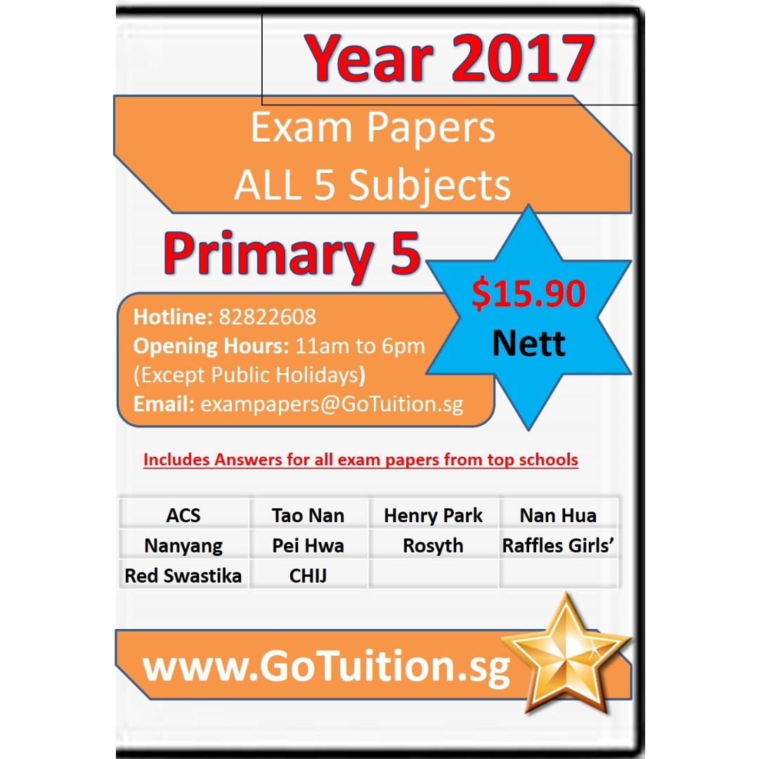 Primary 5 top schools exam papers visit us at httpswww photo photo fandeluxe Choice Image