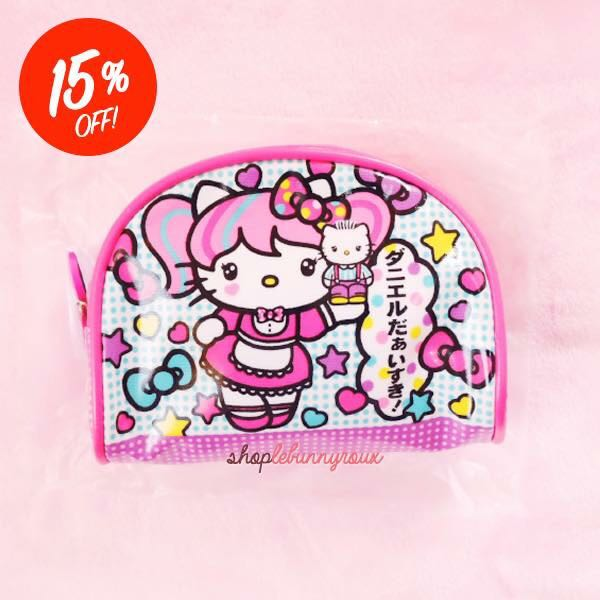 RARE Hello Kitty x Japanimation Dome Pouch 517f21419bf4f