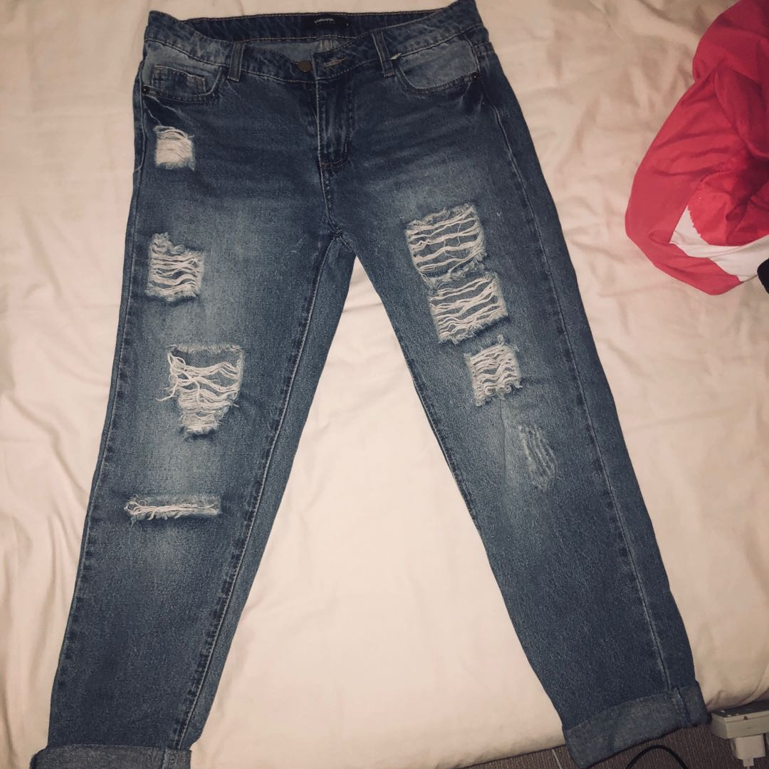Ripped jeans by Valleygirl