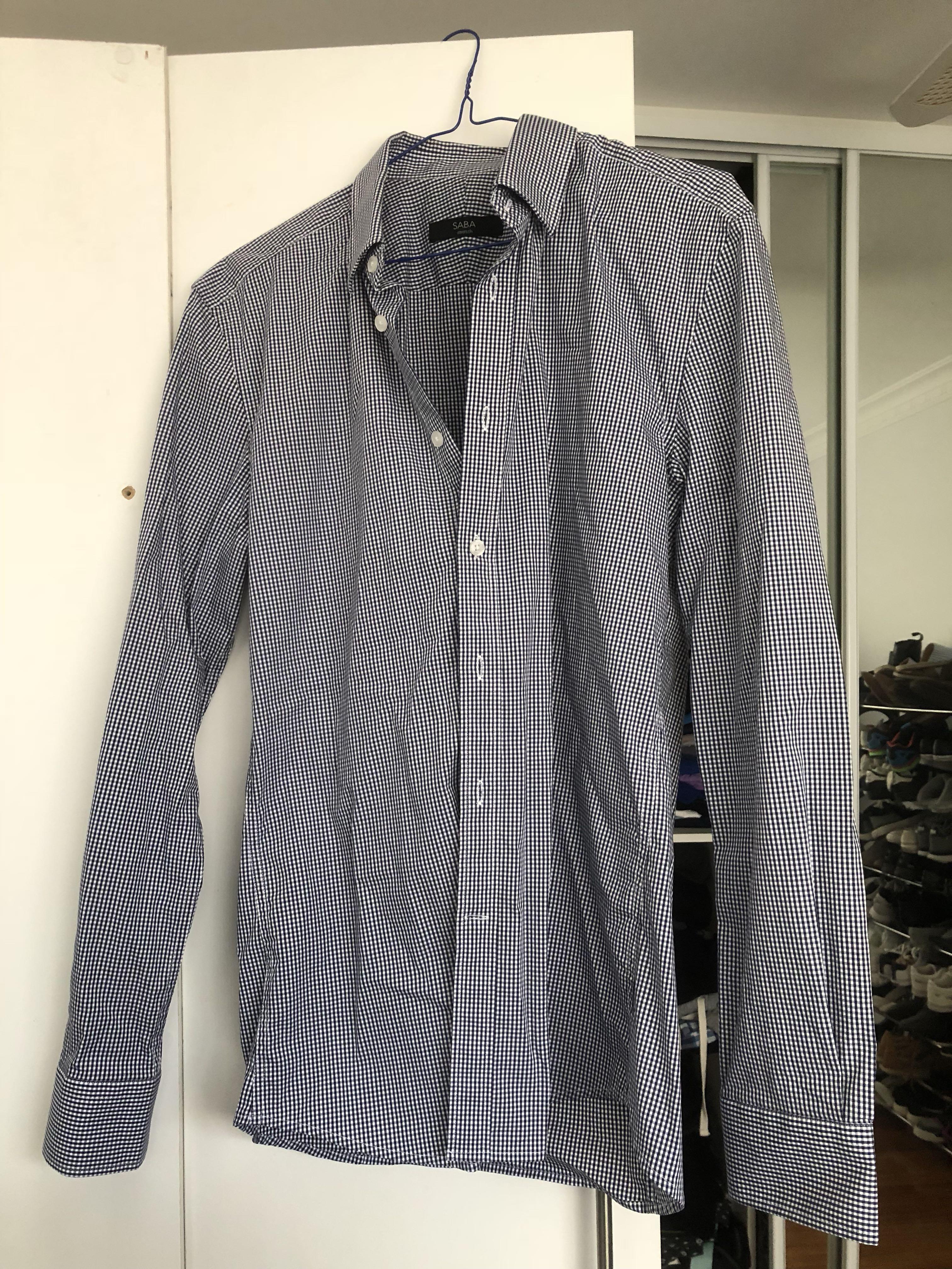 SABA men's shirt size S NEW