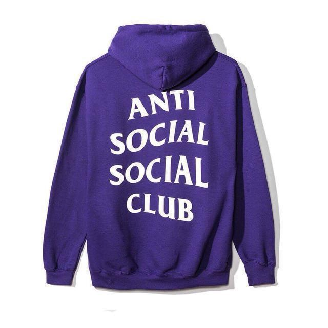 431591c4f5d6 SALE - Anti social social club Purple Rain hoody