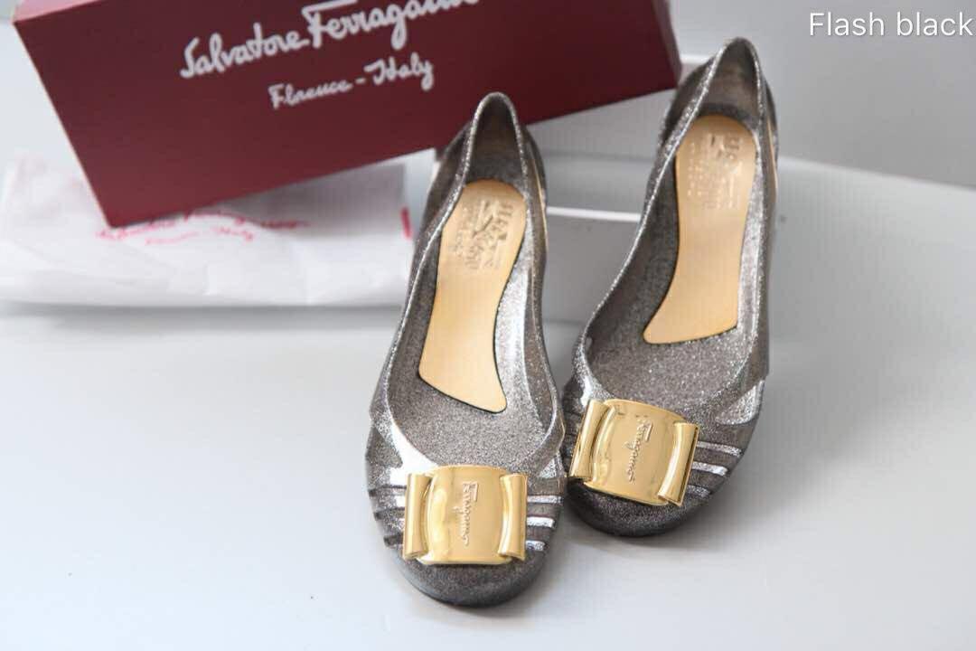 a67a88547b5 Salvatore Ferragamo Jelly Shoes