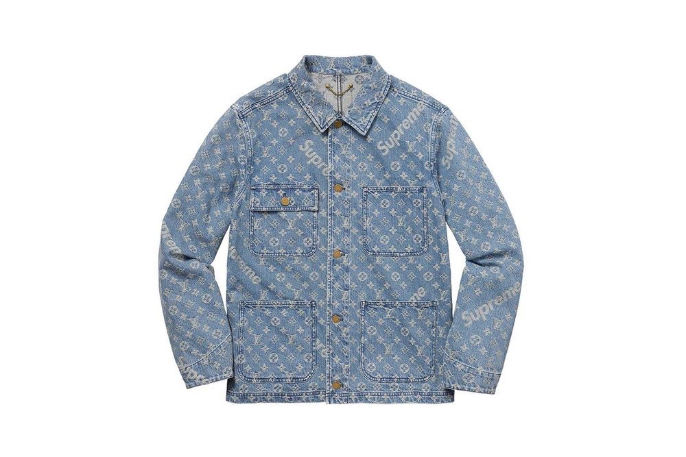 9333721db2ab Supreme x Louis Vuitton Denim Jacket