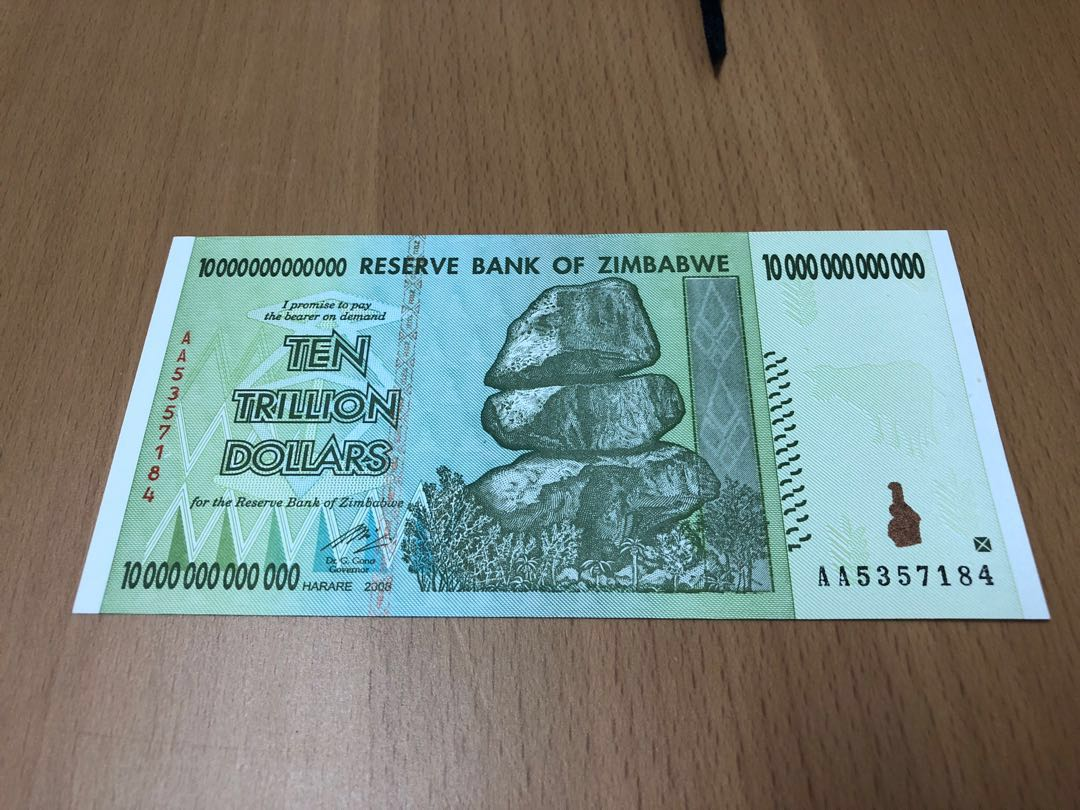 Ten Trillion Dollars Reserve Bank Of