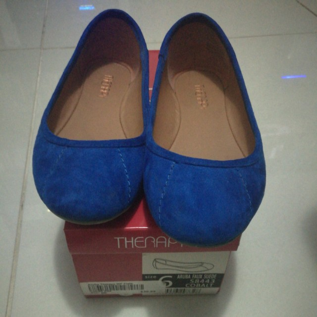 Therapy Cobalt blue flats