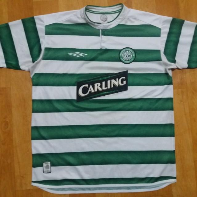 buy online 43990 71902 Umbro Celtic Home Jersey 03 04