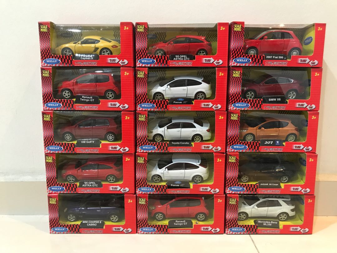 Welly Toy Cars Toys Amp Games Bricks Amp Figurines On Carousell