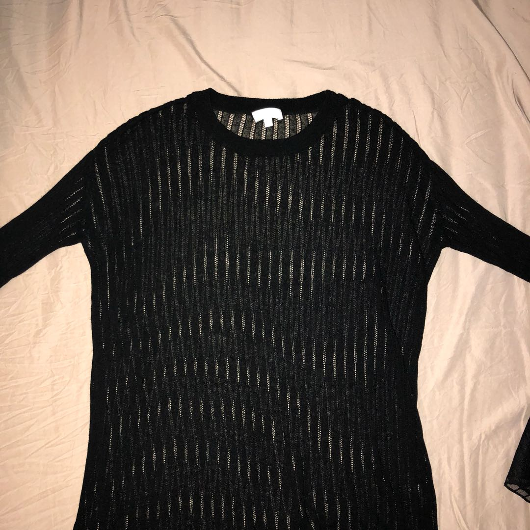 Wilfred Sheer Knit Top