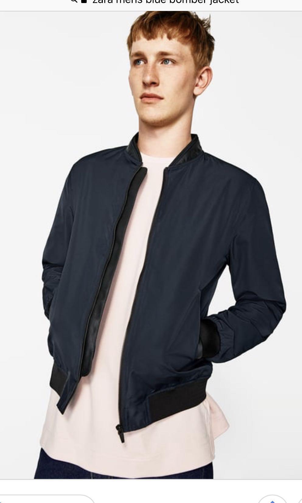 501a4db90064 Zara bomber jacket