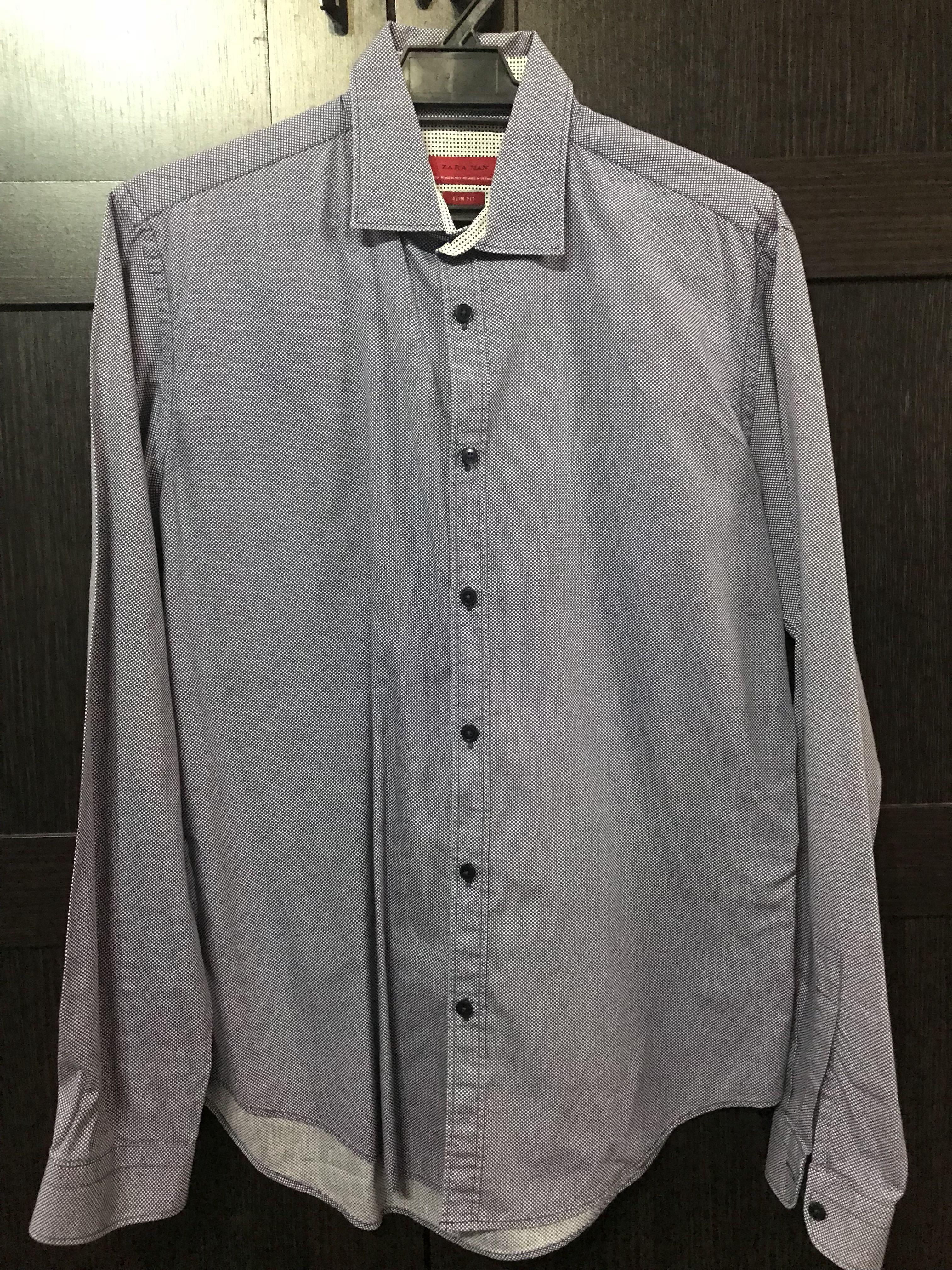 b67da258c6 ZARA MAN Shirt, Men's Fashion, Clothes, Tops on Carousell