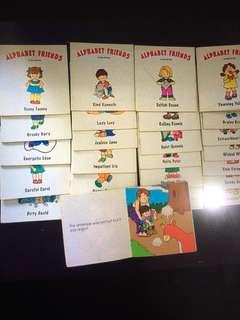 26 books Alphabet Friends (A - Z)