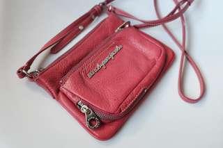 Marc Jacobs fuschia pink crossbody bag