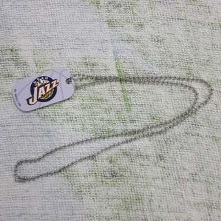 Legit Brand New NBA Dog Tag Utah Jazz