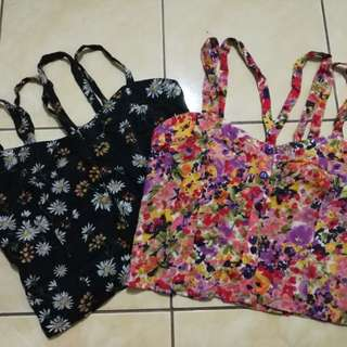 Floral Crop top (Bundle)