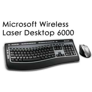 824ab58f82d Microsoft Wireless Laser Desktop 6000 FS, Electronics, Computers on  Carousell