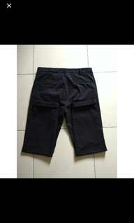 Celana chino uniqlo 31 black navy