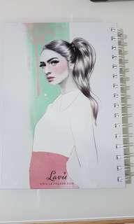 Lavie lash book planner new