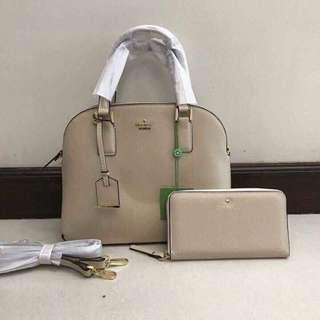 SALE!!!! Authentic Kate Spade Bag & Wallet Set