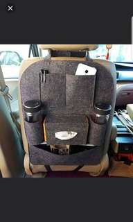 New car backseat organizer