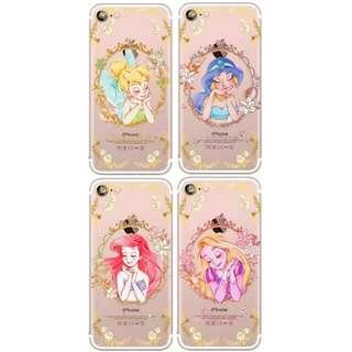 預購👸 迪士尼公主手機殼 (美人魚/長髮公主/ Tinkerbell/Jasmine)