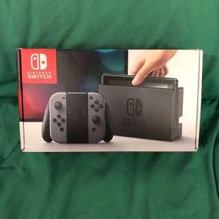 Nintendo Switch 灰色盒換紅藍色盒