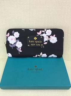 Authentic Overrun Kate spade wallets Floral