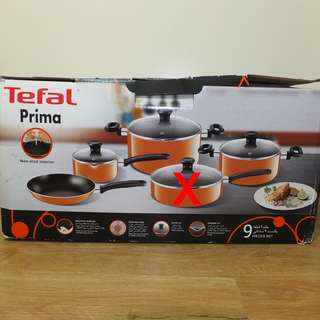 TEFAL PRIMA COOKWARE COOKING SET