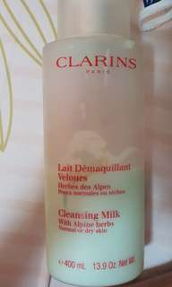 Clarins cleansing milk alpine herbs normal or dry skin