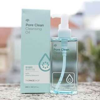 Pore clean cleansing oil