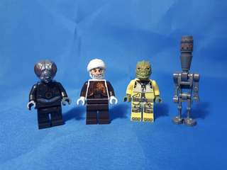 Lego Starwars Bounty hunter set