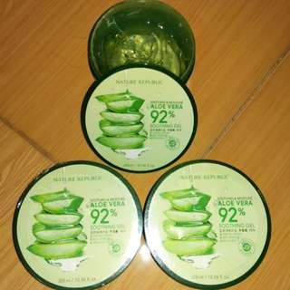 Nature Republik (Aloe Vera 92%) ORIGINAL STORE