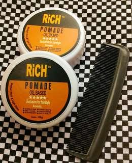 POMADE RiCH Oil Based 60gr