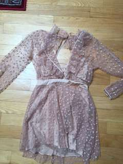 For Love & Lemons stars dress