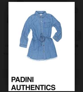 Denim shirt dress (kids)