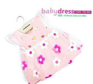 Baby Dress 0-6months on-hand