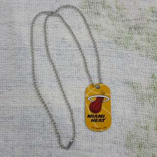 Legit Brand New NBA Dog Tag Miami Heat
