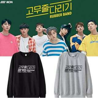 Preorder - IKON RUBBER BAND SWEATSHIRT *S-3XL* exc.pos