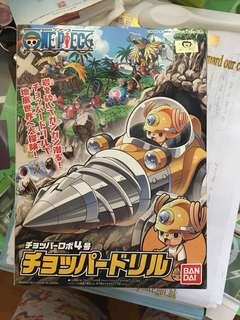 One piece chopper model 海賊王索柏模型