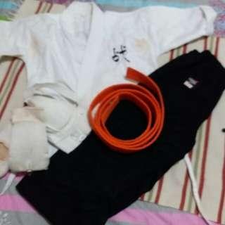 Aikido whole set uniform for sale