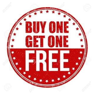 APRIL PROMO!! BUY ONE GET ONE FREE!!