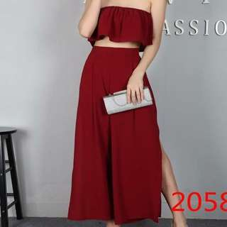 Co Ords Maroon