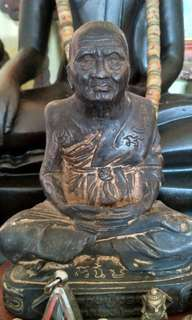ANTIQUE BUDDHA STATUES & OTHERS