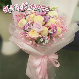 Flower Bouquet∕Hand Bouquet∕Birthday Bouquet∕Anniversary Bouquet∕Proposal Bouquet  - 756D9     50