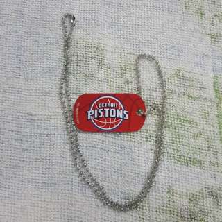 Legit Brand New NBA Dog Tag Detroit Pistons